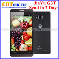 Wholesale JIAYU G3S G3T MTK6589T Quad core phone ghz Android quot IP smart phone jiayu g3 g3st SG Post freeshipping