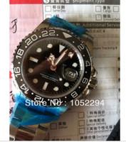 Wholesale luxury wristwatch high qaulity AAAA r II Swiss ETA SS Black watches men factory men s watch
