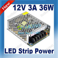220V 3A DC 12V Hot 12V 3A 36W Driver For LED Strip light Display Switch Power Supply 220V 2154