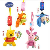 plush  toys baby - Hot Sale New baby bed hanging toys Toys mobile in a crib baby toys plush toys Baby rattles hanging bell chimes baby chimes