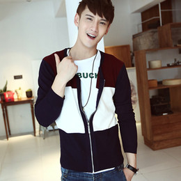 Wholesale classic zipper design elegant gentlemen men s sweater