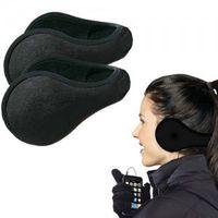 Wholesale Women Men Winter Ear Warmers Behind The Ear Style Fleece Muffs