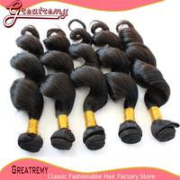 100% Brazilian Virgin Hair Extension Queen Hair Product 3bun...