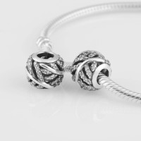 Silver bead distributors - LW305 lover gift charms Sole distributor Fine jewelry bead suitable for pandora bracelet sterling silver original charm DIY bead