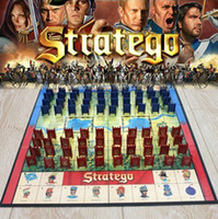 Wholesale Top Quality Stratego Keesing Games English Vintage Chess Set Puzzle Board Game Strategy Party Games Children Gift