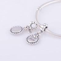 Wholesale LW309 brand discount Silver Charms Loving mother Original beads suitable for charmilia European pandora Bracelet and Necklace