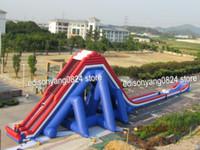 water slide - ED inflatable giant water slide jumbo water slide for beach water slide for adult amp kids