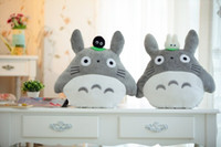 Unisex stuffed animal pillows - Cartoon quot Totoro Plush Pillow Plush Toys Cushion Stuffed animals Package Packed in bag