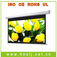 Wholesale 48 quot quot wireless remote control electric projection screen