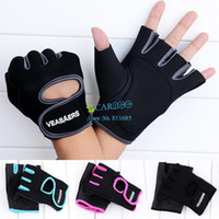 Wholesale 2014 New Sports Fitness Gloves Exercise Training Gym Gloves Multifunction for Men amp Women Slip Resistant Gloves