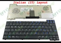 Wholesale New Laptop keyboard for HP nx7300 nx7400 nc8430 nw8440 nx8420 matt Black Italian IT version K061026R1