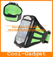 For Apple iPhone Fabrics Black Adjustable Reticular Arm band Sport Net Armband Running Gym Strap Case Holder for iPhone 5 5C 5G 5S iPhone5 50pcs lot IP5SC22