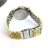 Wholesale 2013 New arrived Stainless steel strap Men and Ladies Fashion High Quality Luxury Quartz Watch Business style wrist watches
