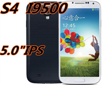 Wholesale 2014 new bargain price S4 I9500 Android smartphone gesture MTK6515 inches IPS HD ROM2G MTK6589 MTK6589T