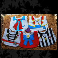 Wholesale Waterproof Baby Bibs Pirate Babywear Layers Sailor Bibs Newborn Saliva Towel Pinafore Toddler Burp Cloth UN3