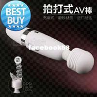 Wholesale Rechargeable AV Vibrator Clitoral Masturbator Sex Toys Female Ejaculating Feeling Climax Vibrator Sex Machine