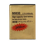 For Samsung ace offering - Best mAh High Capacity Gold Replacement Rechargeable Battery for Cell Phone Samsung Ace S5830 for Samsung S5830 Factory Offer