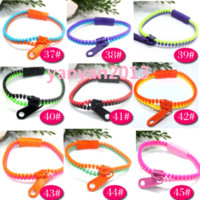 Cheap Link, Chain zipper bracelet Best Gift Plastic candy bracelet