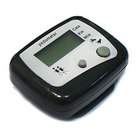Wholesale S5Q Portable Digital Hike Pedometer Calorie Monitor Running Counter Hiking Tools AAAAES