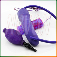 Wholesale Eggplant Vibrators Inflatable Dildo G Spot Vibrator Sex Toys For Woman Sex Products