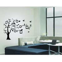 Wholesale S5Q Wall Decal Sticker Removable Family Photo Frame Tree Branches Home Decor AAABUZ