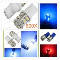 Wholesale 600pcs T10 W5W1210 LED smd Licence lamp car side light car wedge light bulb Width Lamp