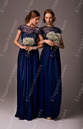 Big Discount 2014 Elegant Strapless Floor Length High Neck Short Sleeves Bridesmaid Dresses Formal Dresses Under 100$