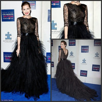 Wholesale - 2014 Allison Williams Black Celebrity Dresses 1 ...