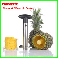 Wholesale Best price Fruit Pineapple Corer Slicer Peeler Cutter Parer Knife Stainless Kitchen Tool