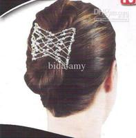 Wholesale magic hair comb twin hair clips double hair comb clearance sale
