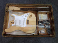 Solid Body guitar parts - New brand electric ST guitar kit with all parts
