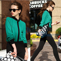 Wholesale Celebrity Hot Sale Ladies Office Clothing Spring New Arrival Long Sleeve Women Korean Lace Shirts XJ12