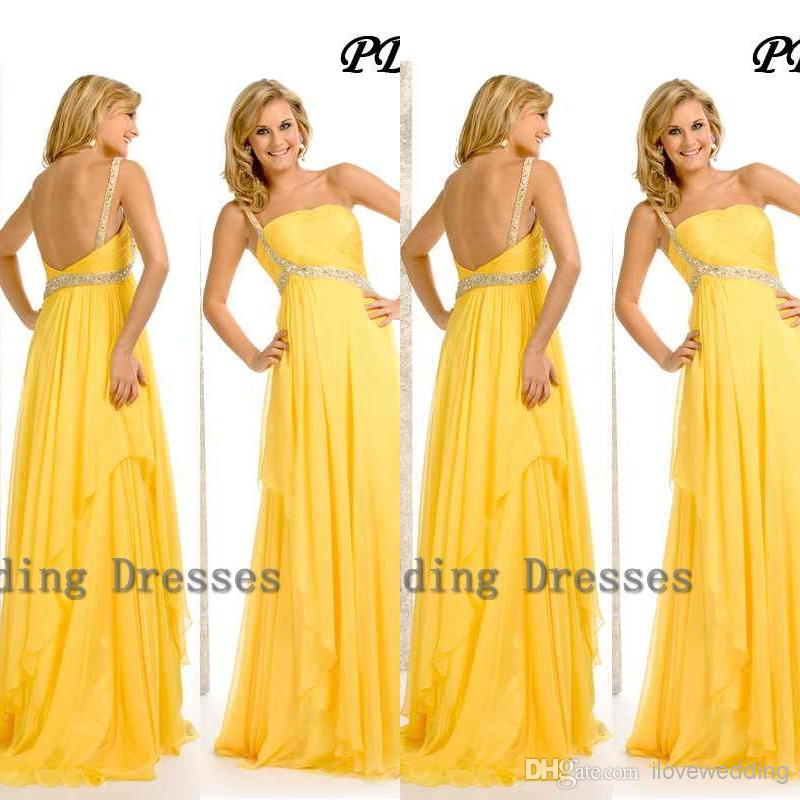 Related Keywords & Suggestions for Yellow Prom Dress 2014