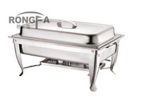 Wholesale stainless steel chafing dish buffet dish square shape