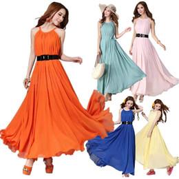 Wholesale S5Q Summer Women Maxi Bohemia Long Chiffon Sun Beach Ball Gown Evening Party Dress AAACDN
