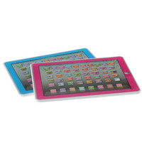 Wholesale S5Q Y Pad English Computer Learning Education Machine Tablet Toy Games Gift for Kid AAACDW