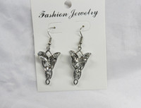 Wholesale The Lord of the Rings Arwen Evenstar Dangle Earrings Zinc Alloy Crystal Drop Earrings Classic jewelry pairs dhl