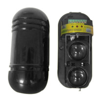 Wholesale Dual Beam Photoelectric Security Infrared Sensor Detector Alarm Outdoor M