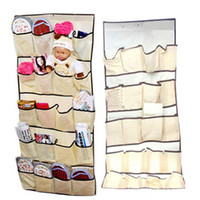 Wholesale HANGING BAG DOOR HOLDER SHOE STORAGE ORGANIZER CLOSET HANGER ORGANISER HG