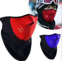 Wholesale 1000pc High Quality Neoprene Neck Warm Half Face Mask Winter Veil For Sport Bicycle Motorcycle Ski Snowboard