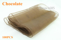 Wholesale Organza Table Runner quot x108 quot For Wedding Party Hotel Decoration Gift Event Many color By DHL FedEx Free