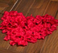 Petals silk rose petals - Pink Purple Red Silk Rose Petals Flower Wedding Party Rose Decoration Rose Petal Flower