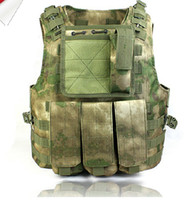 Wholesale A tacs FG amphibious combat vest Tactical Combat ARMOR Vest FG