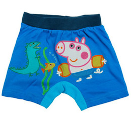 Wholesale New boy swimming trunks peppa pig swimwear erbaby