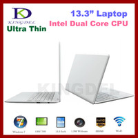 Wholesale 13 Inch Laptop Notebook Computer with Intel Atom D2500 Dual Core Ghz GB GB WIFI Webcam
