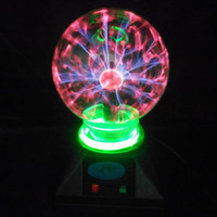 Wholesale Magic crystal ball ion electrostatic induction ball lightning magic lamp light magic ball and and inches