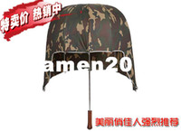 Wholesale New Umbrella Helmet Sun hat black lemon hinggan anti uv poleaxe sun shading vinyl sun umbrella