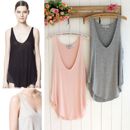 Wholesale Sexy Tops New Fashion Fitness Women Vest Tops Ladies Tops Short Pullover Camisole feminine Tank Top Blouse T Shirt Women s Clothing Colors