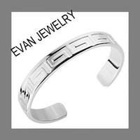 Fashion Bangles Yes EVYSSZ (27) TOP quality Wholesale silver men big cuff bangle bracelet fashion jewelry classic free shipping