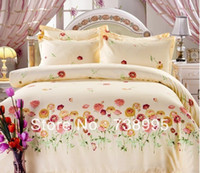 Wholesale Drop Shipping bedding set cotton newyear set King queen full twin size same quality lowest price in Aliexpress